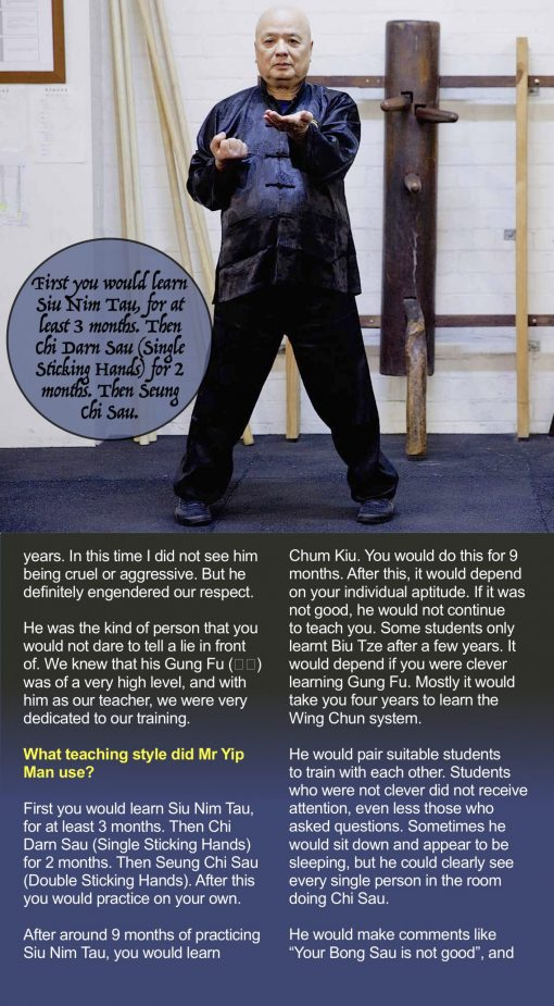 Wing Chun Origins Issue 6 Derek Fung