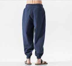 Wing Chun Pants Blue