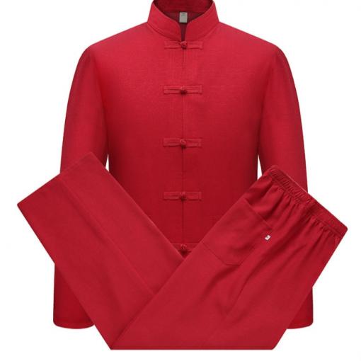 Kung Fu Uniform Red