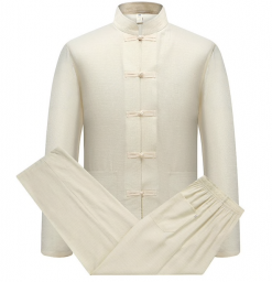 Kung Fu Uniform Cream